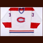 1986-89 Patrick Roy Montreal Canadiens Game Worn Jersey