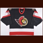 1996-97 Dennis Vial Ottawa Senators Game Worn Jersey