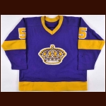 1978-79 Richard Mulhern Los Angeles Kings Game Worn Jersey