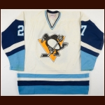 1979-80 Pittsburgh Penguins Pre-Season Game Worn Jersey – Player #27