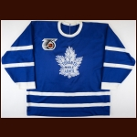 1991-92 Darryl Shannon Toronto Maple Leafs Turn Back The Clock Game Worn Jersey - Photo Match - The Darryl Shannon Collection – Darryl Shannon Letter