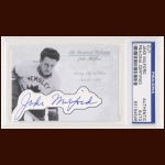 Jake Milford Autographed Card - The Broderick Collection - Deceased