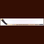 Pierre Larouche Montreal Canadiens Sher-Wood Game Used Stick