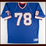 Bruce Smith Buffalo Bills Practice Worn Jersey