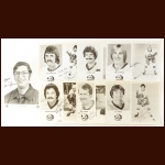 New York Islanders Autographed Group of (31) – Includes Hall of Famers and Deceased
