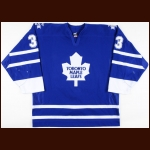2003-04 Craig Johnson Toronto Maple Leafs Game Worn Jersey – Photo Match