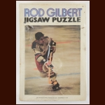Early 1970's Rod Gilbert New York Rangers Jigsaw Puzzle - Complete - 500-pieces - 16x20