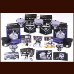 Dustin Brown Los Angeles Kings Autograph Group  - 56 Items including Photos, Hats, Pennants & Pucks