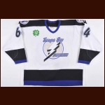 "1997-98 Jason Bonsignore Tampa Bay Lightning Game Worn Jersey – ""Cullen"" - Photo Match"