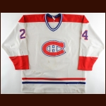 1986-87 Chris Chelios Montreal Canadiens Game Worn Jersey - Photo Match