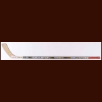 Steve Yzerman Detroit Red Wings Green Easton Game Used Stick