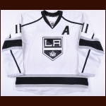 2013-14 Anze Kopitar Los Angeles Kings Game Worn Jersey - Stanley Cup Season - Photo Match