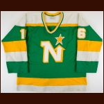 1983-84 Mark Napier Minnesota North Stars Game Worn Jersey