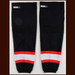 2010-11 Chicago Blackhawks Game Worn Socks – Alternate