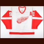 2002-03 Sergei Fedorov Detroit Red Wings Game Worn Jersey - All Star Season - Photo Match