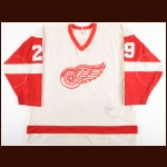 1983-84 Randy Ladouceur Detroit Red Wings Game Worn Jersey
