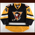 2017-18 Zach Trotman Wilkes-Barre/Scranton Penguins Game Worn Jersey – Team Letter
