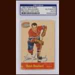 "Emile ""Butch"" Bouchard 1955 Topps – Montreal Canadiens – Autographed – Deceased – PSA/DNA"