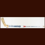 Tomas Vokoun Nashville Predators White Sher-Wood Game Used Stick – Autographed
