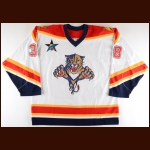 "2002-03 Eric Beaudoin Florida Panthers Game Worn Jersey – ""2003 NHL All Star"""