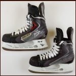 Brent Seabrook Chicago Blackhawks Black Bauer Game Worn Skates – Stanley Cup Season - Autographed – Team Letter