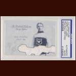 Harry Hyland Autographed Card - The Broderick Collection - Deceased