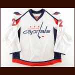 2015-16 Matt Niskanen Washington Capitals Game Worn Jersey – Photo Match – Team Letter