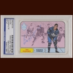 Bob Pulford 1968 Topps - Toronto Maple Leafs - Autographed - PSA/DNA