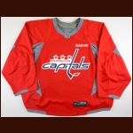 2015-16 Braden Holtby Washington Capitals Practice Worn Jersey - Vezina Trophy - All Star Season - 1st Team NHL All Star - Career Best & NHL Leading 48 Wins – Team Letter