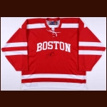 Jack Eichel Boston University Autographed Replica Jersey