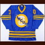 1976-78 Rick Wamsley St Catharines-Hamilton Fincups Game Worn Jersey - The Rick Wamsley Collection – Rick Wamsley Letter