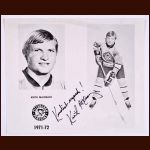Keith McCreary Pittsburgh Penguins Autographed 8x10 B&W Photo - Deceased