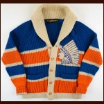 1928-29 Andy Aitkenhead Springfield Indians Wool Sweater