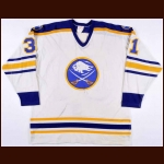 1982-83 Dave Andreychuk Buffalo Sabres Game Worn Jersey – Rookie - Photo Match
