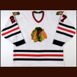 1993-94 Jeremy Roenick Chicago Blackhawks Game Worn Jersey - Career Best 107-Point Season