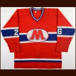 1979-80 Denis Champagne Montreal Juniors Game Worn Jersey - Rookie