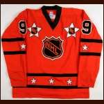 1978 Clark Gillies NHL All Star Game Worn Jersey - Only NHL All Star Game - Clark Gillies Letter