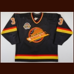 "1994-95 Mike Peca Vancouver Canucks Game Worn Jersey – Rookie – ""25-year Anniversary"""
