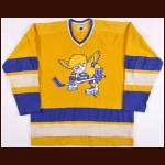 1972-73 Gold Prototype WHA Minnesota Fighting Saints Jersey - The St. Paul, Minnesota Collection