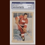 "Leonard ""Red"" Kelly 1953 Parkhurst - Detroit Red Wings - Autographed - PSA/DNA"