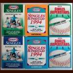 (50+) Complete Runs 1993/1994/1995 Kraft Superstars Pop-Up Baseball  Sets In Special Collectors Boxes (Total Of 156 Sets) - MINT CONDITION