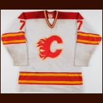 1982-83 Guy Chouinard Calgary Flames Game Worn Jersey