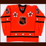 "1976 Guy Lapointe NHL All Star Game Worn Jersey – ""1976 American Revolution Bicentennial"" - Photo Match – Guy Lapointe Letter"