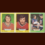 1973-74 Topps Hockey Complete Set of 198 – Bill Barber (R), Dave Schultz (R), Billy Smith (R), Bobby Orr – Average Grade EX-NM