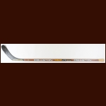 Brett Hull Dallas Stars Brown Easton Game Used Stick – Autographed