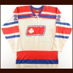 1972-73 Chris Meloff WHA Ottawa Nationals Game Worn Jersey – Inaugural WHA Season – Photo Match