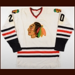 1970's St. Catharines Black Hawks Game Worn Jersey – Player #20