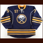 2011-12 Tyler Myers Buffalo Sabres Game Worn Jersey – Team Letter