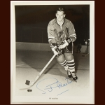 Pit Martin Chicago Blackhawks 8x10 B&W Autographed Photo – Deceased