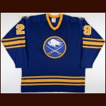 1981-83 Dave Andreychuk & Val James Buffalo Sabres Game Worn Jersey – Rookie